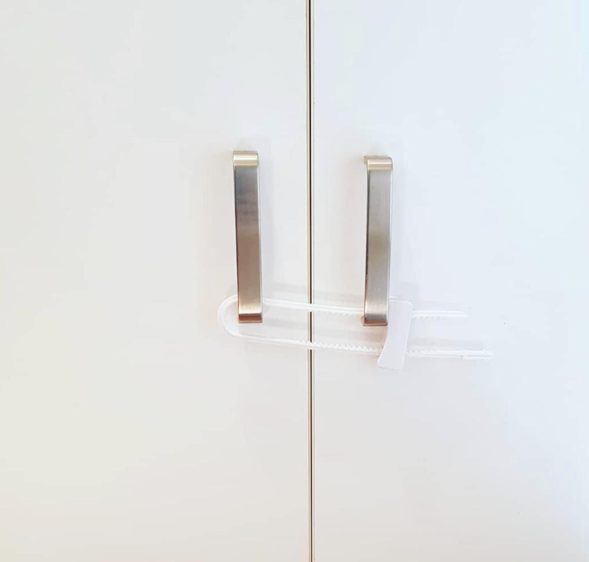 Sliding Cabinet Lock
