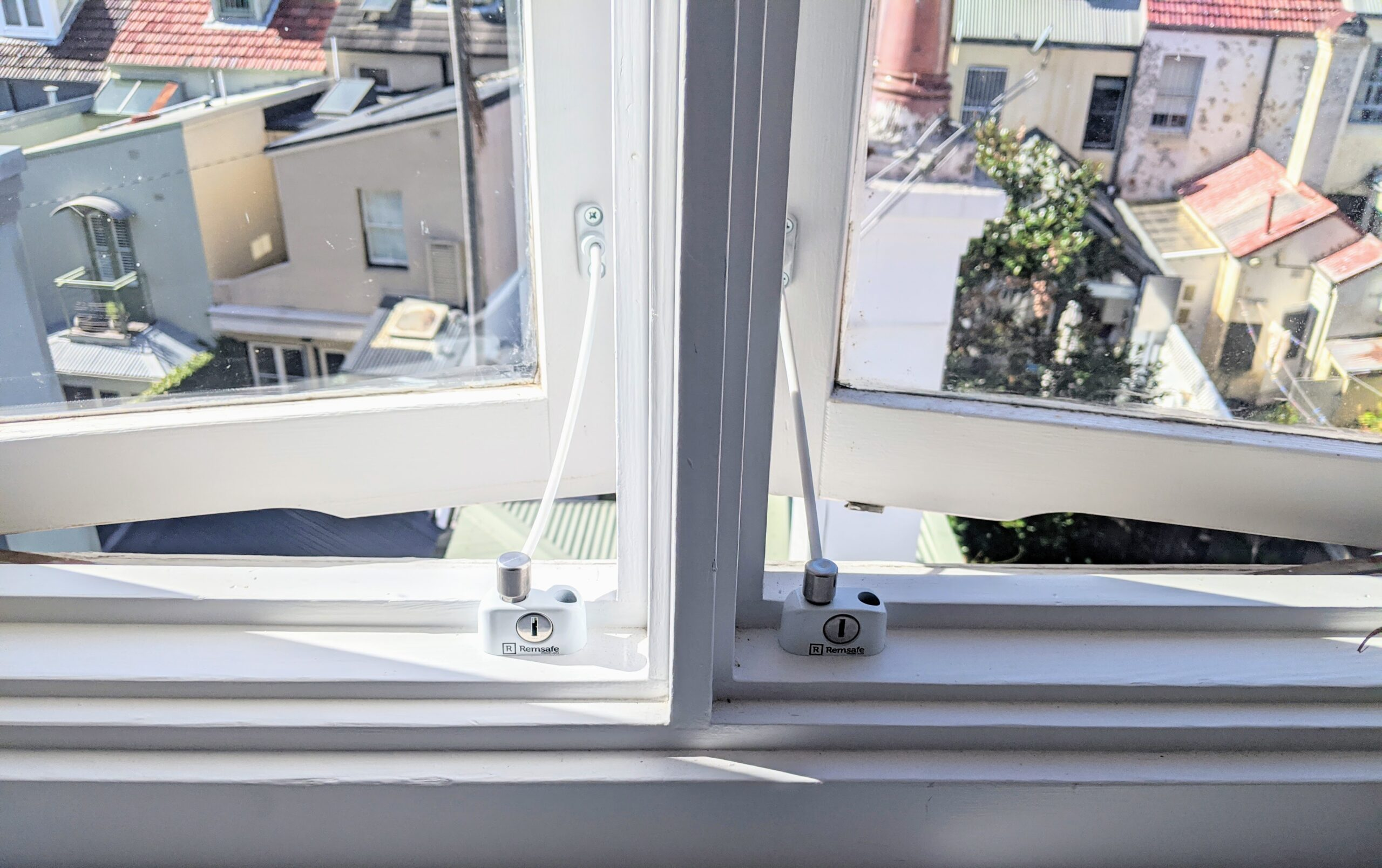 Window safety lock