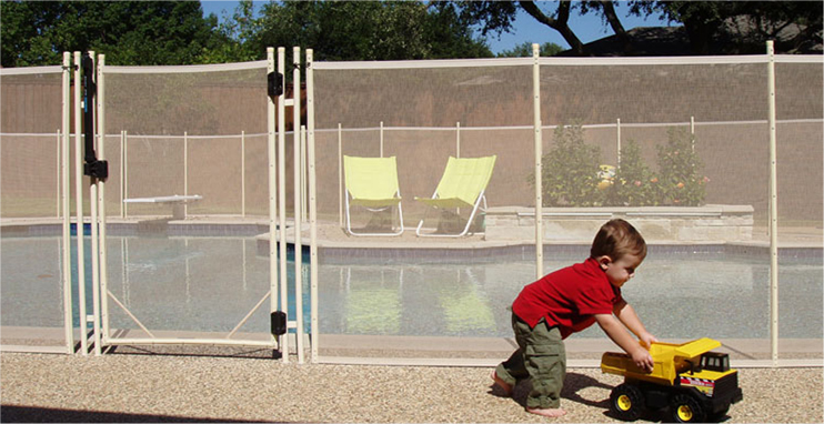 Childproofing your pool