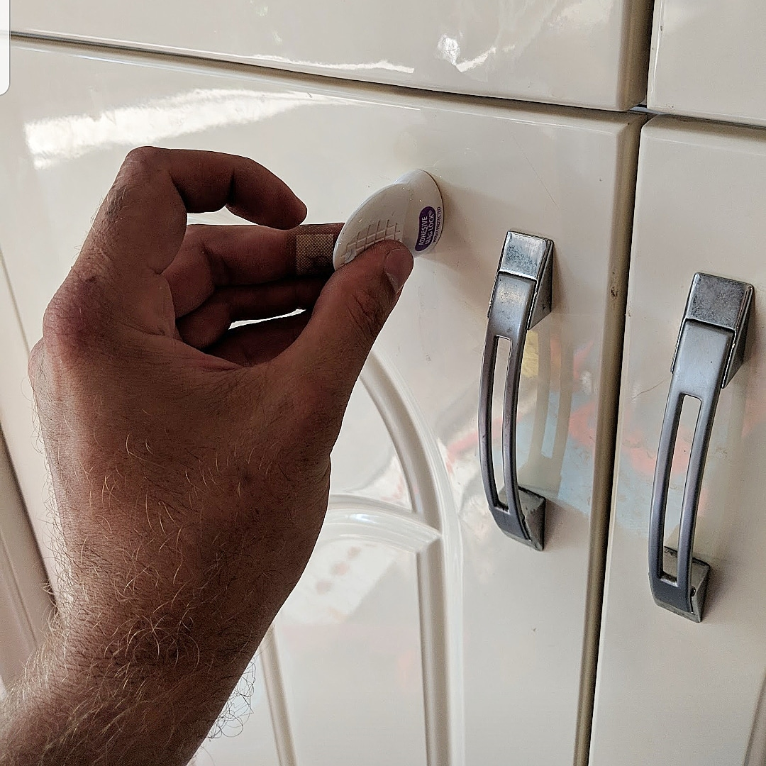 Baby proofing magnetic locks